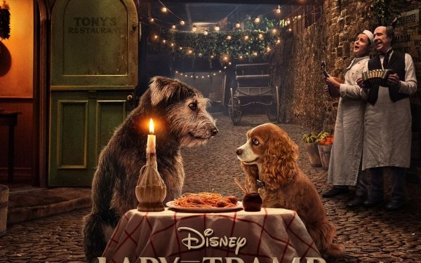 Movie Lady and the Tramp (2019) Lady And The Tramp HD Wallpaper   Background Image