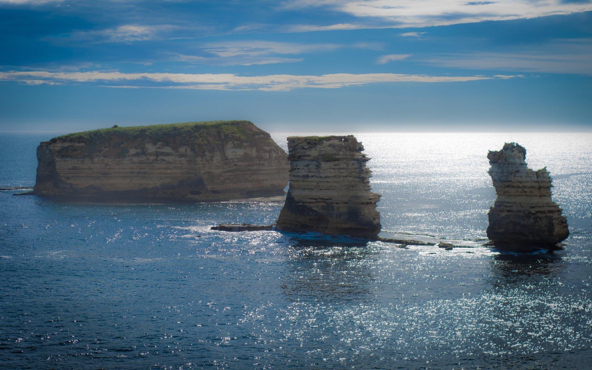 Earth - Island  Australia Rock Ocean Wallpaper