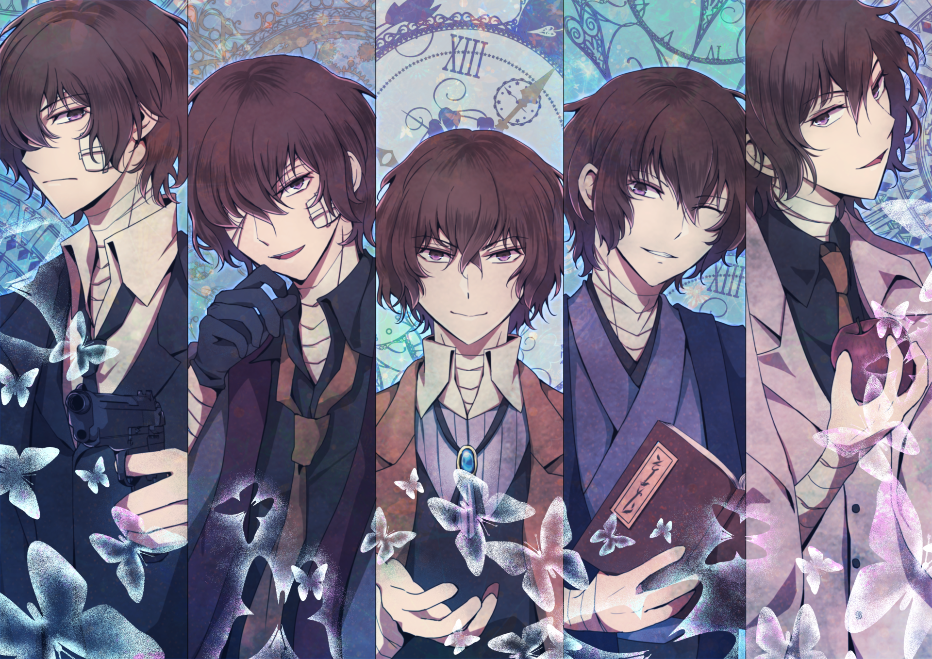 17 Bungou Stray Dogs Dead Apple Hd Wallpapers Background Images