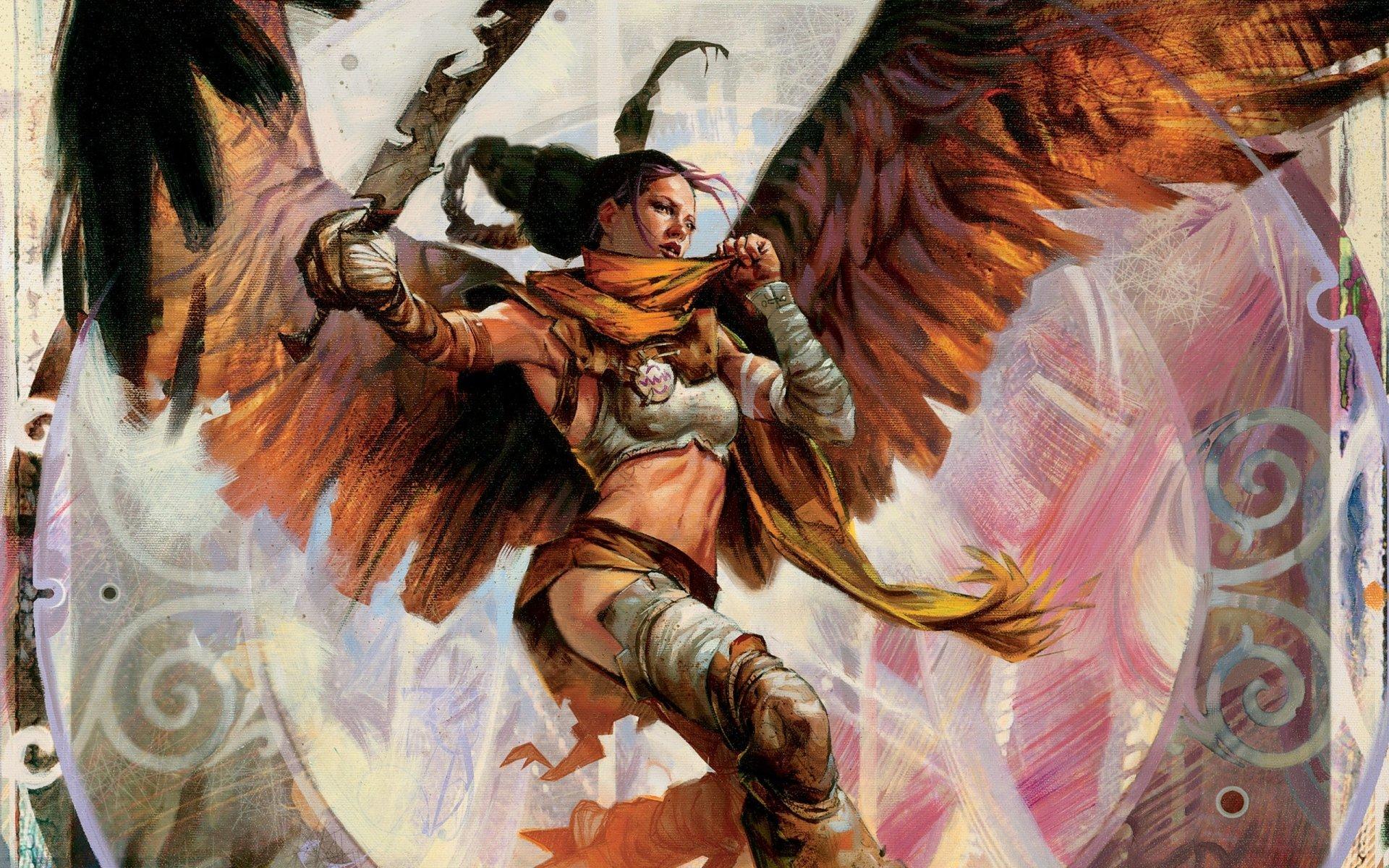 Game - Magic: The Gathering  Serra Avenger Wallpaper
