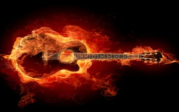 CGI - Guitar Wallpapers and Backgrounds ID : 104166