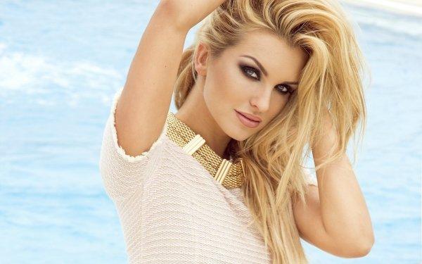 Women Blonde Model Woman HD Wallpaper   Background Image