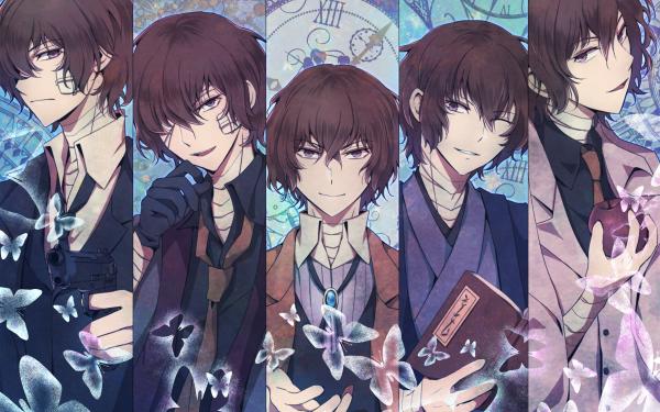Anime Bungou Stray Dogs: Dead Apple Osamu Dazai HD Wallpaper   Background Image