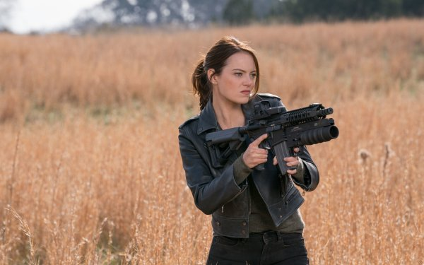 Movie Zombieland: Double Tap Emma Stone HD Wallpaper   Background Image
