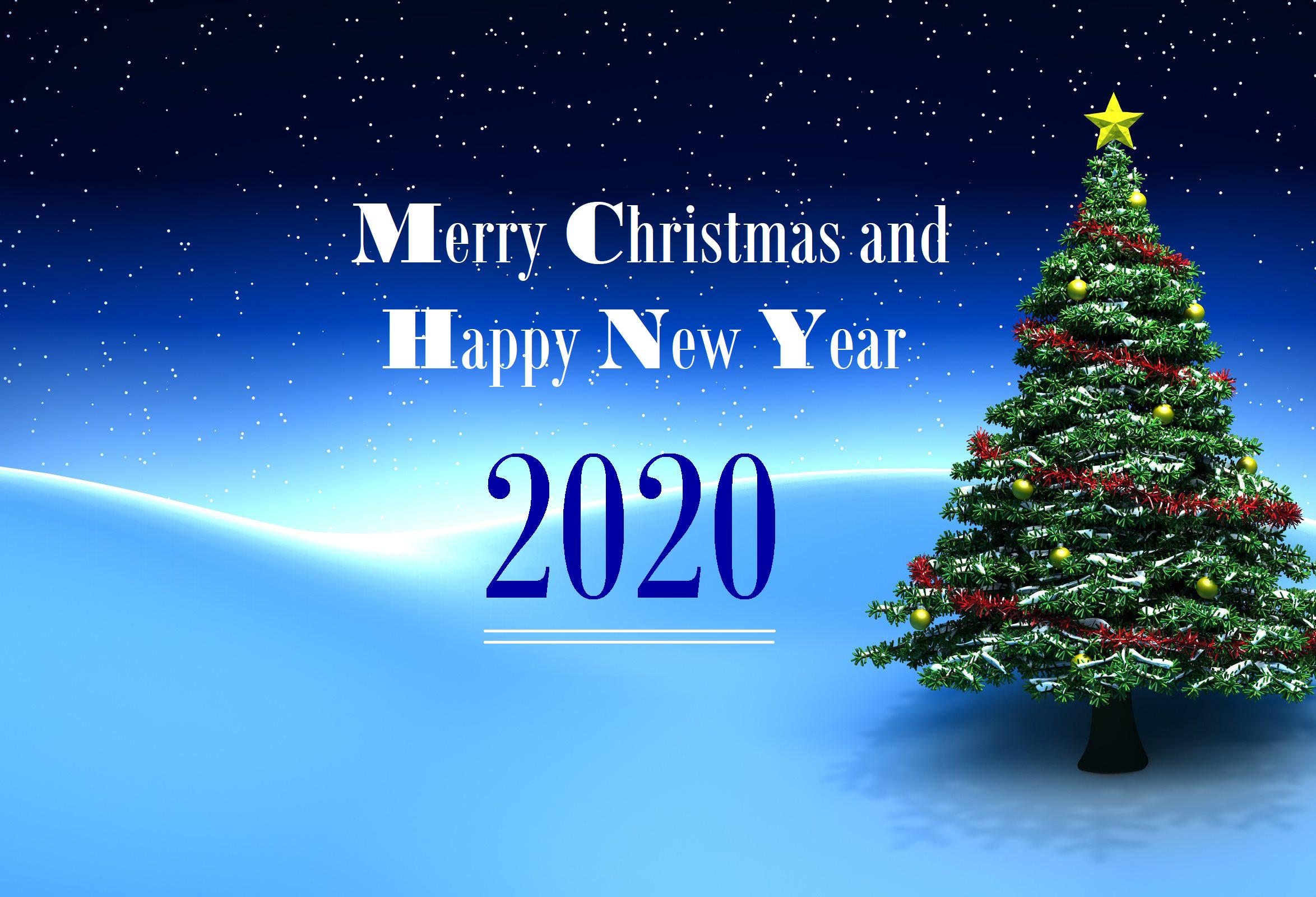 Año Nuevo 2020 Fondo de pantalla HD | Fondo de Escritorio ...