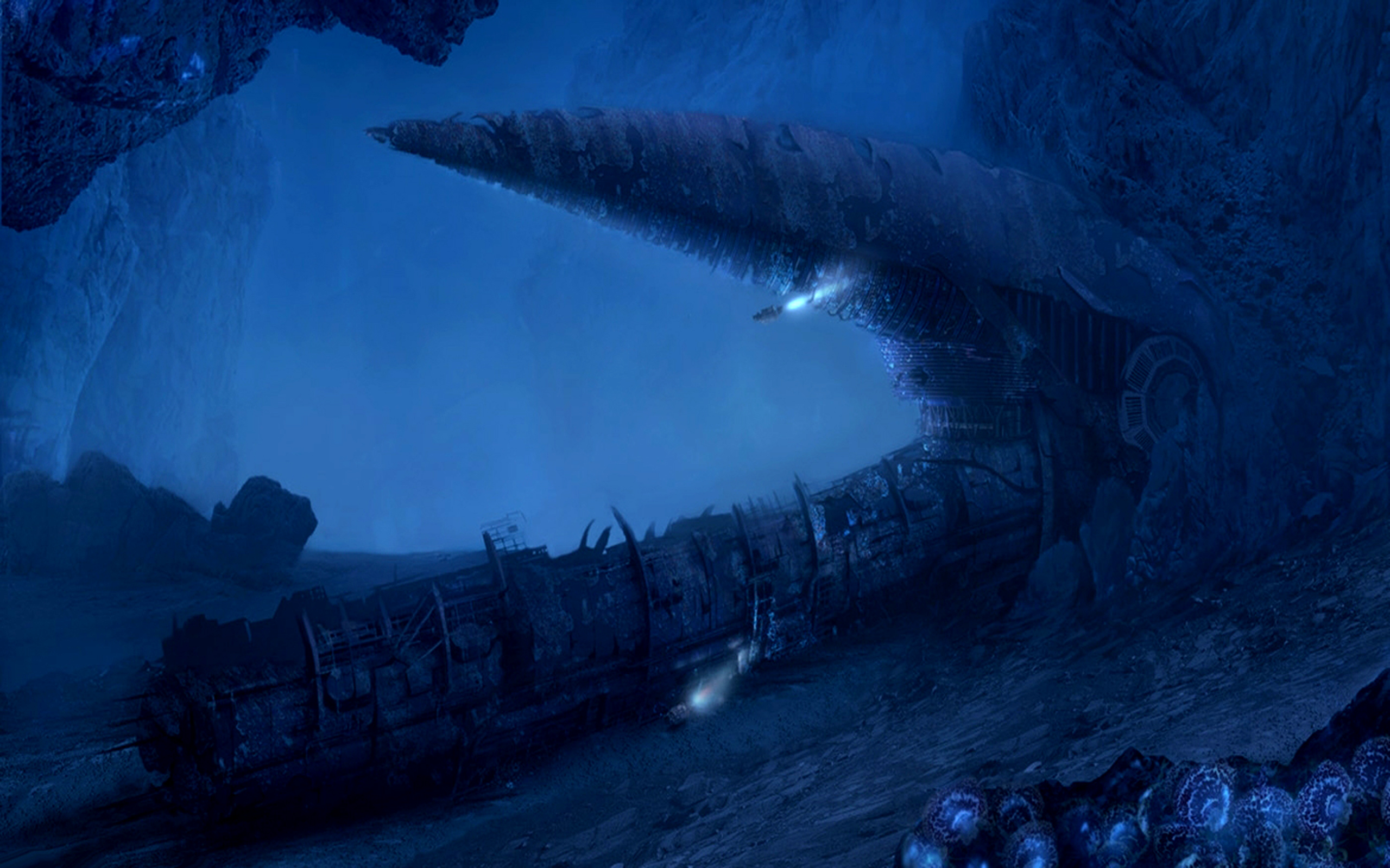 Backgrounds Wallpaper Abyss: The Deep Seas Of Pandora HD Wallpaper