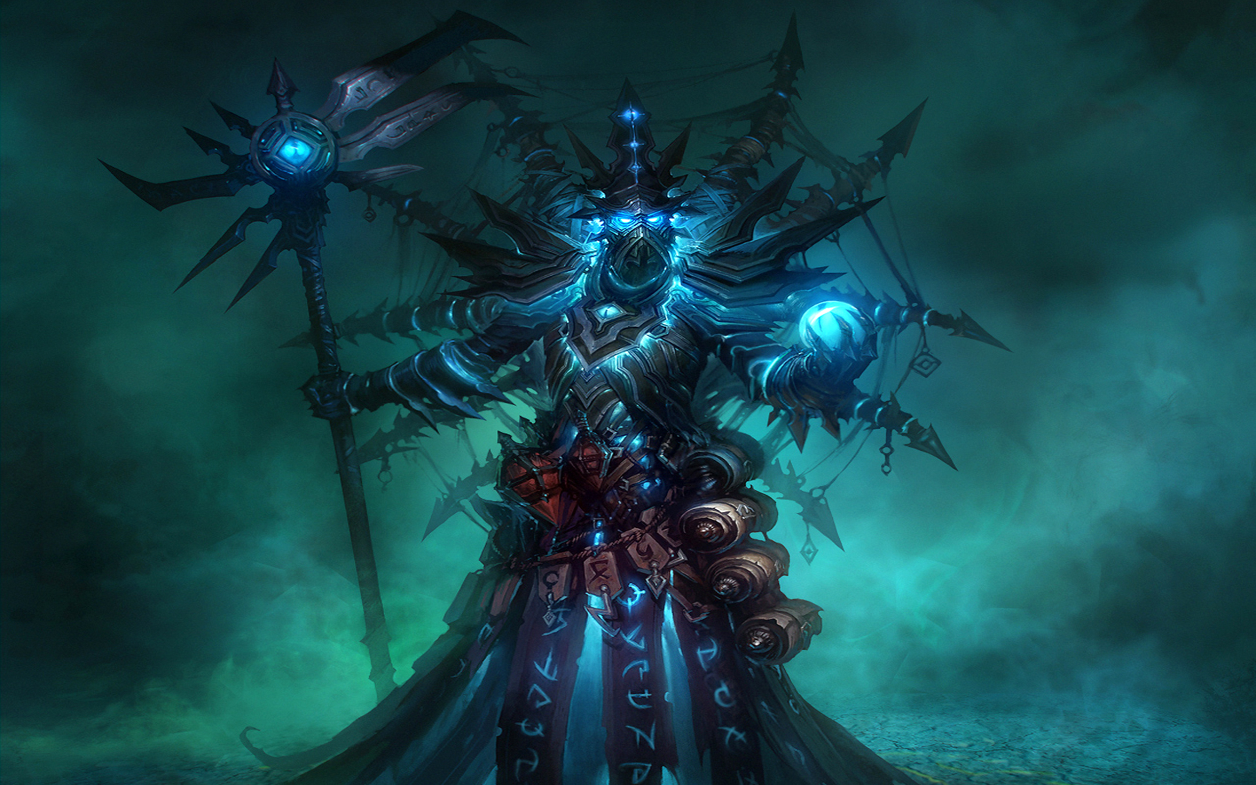 Jeux Vidéo - Warhammer  - Glass Armor - Ringwraith Fond d'écran