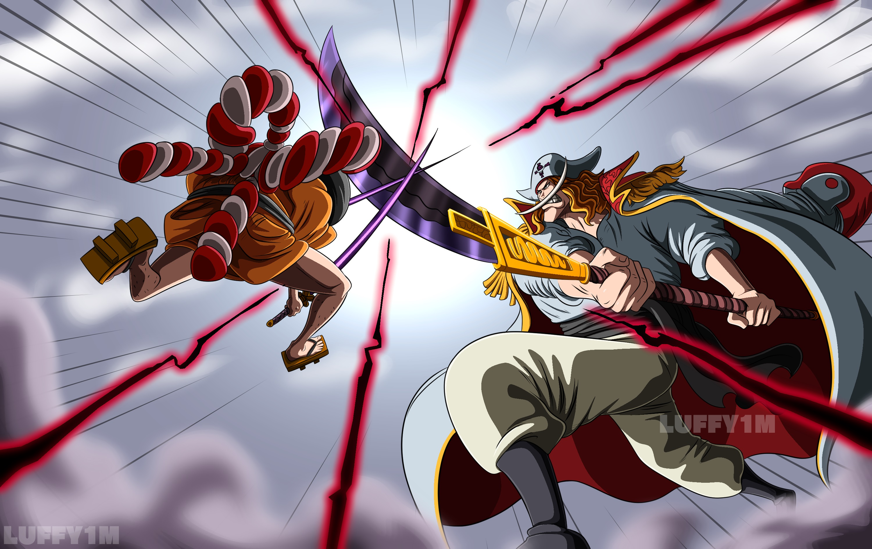 One Piece HD Wallpaper | Background Image | 3000x1889 | ID ...