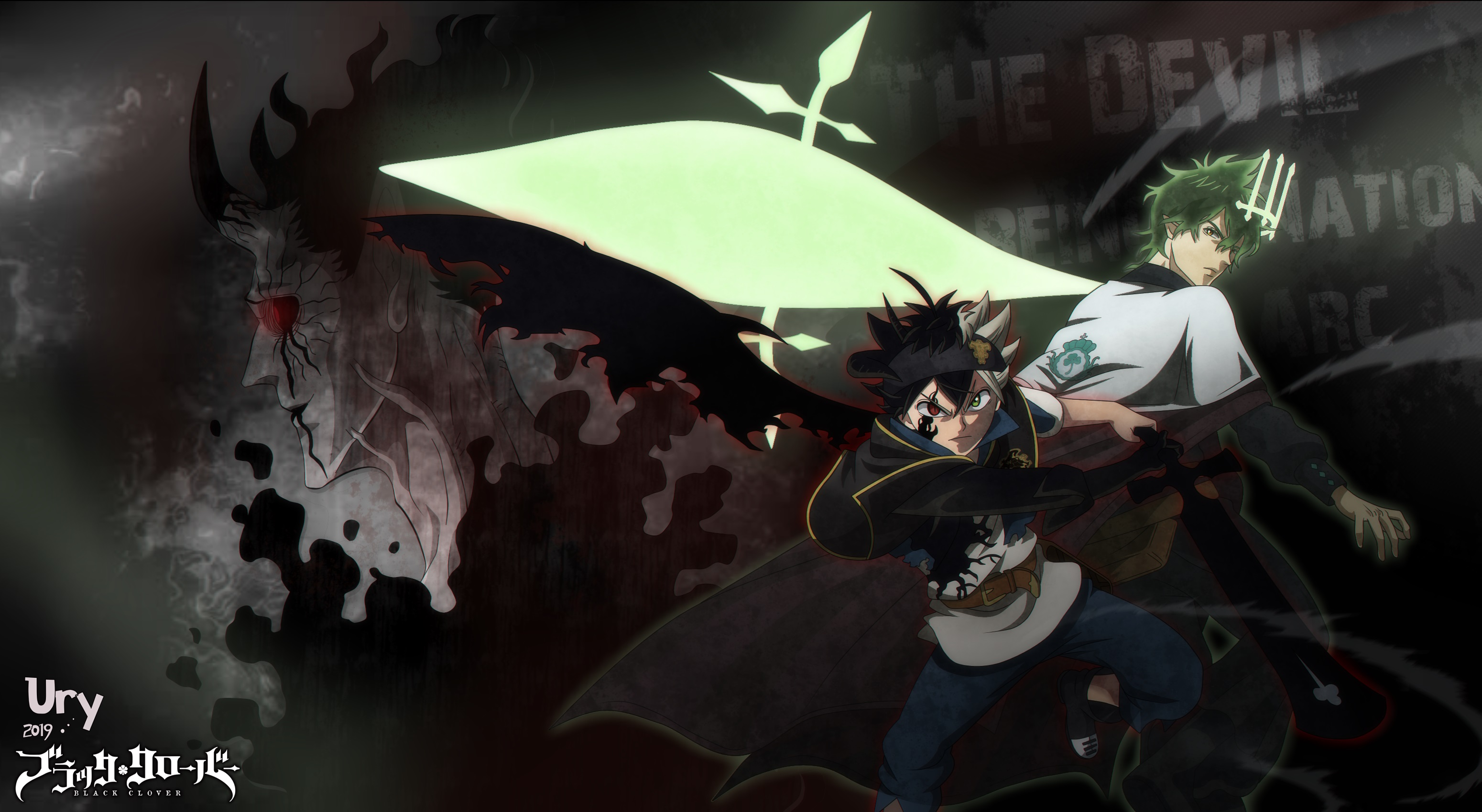 Black Clover Hd Wallpaper Background Image 3100x1700 Id 1057936 Wallpaper Abyss See what julius novachrono (animedaisukidesu) has discovered on pinterest, the world's biggest collection of ideas. black clover hd wallpaper background