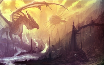 Fantasy - Dragon Wallpapers and Backgrounds ID : 105348
