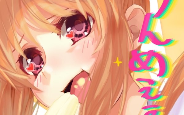Anime Aho Girl Yoshiko Hanabatake HD Wallpaper   Background Image