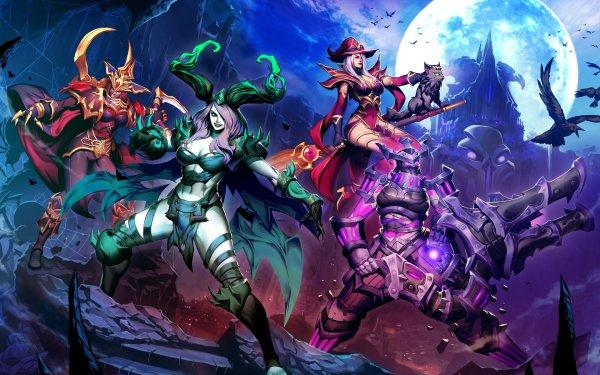 Video Game Heroes of the Storm Alexstrasza Maiev Shadowsong Sally Whitemane Zarya HD Wallpaper | Background Image