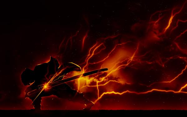 Anime Demon Slayer: Kimetsu no Yaiba Zenitsu Agatsuma HD Wallpaper | Background Image