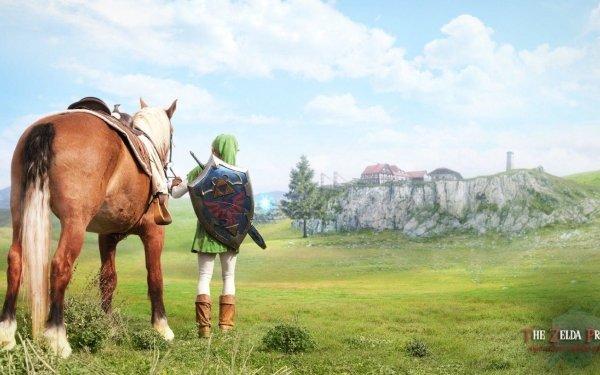 Video Game The Legend Of Zelda: Ocarina Of Time Zelda Epona The Legend of Zelda Link Horse HD Wallpaper | Background Image