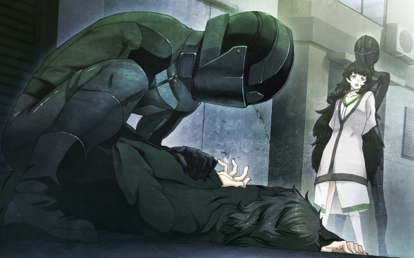 Anime Steins;Gate 0 Rintaro Okabe Maho Hiyajo HD Wallpaper | Background Image