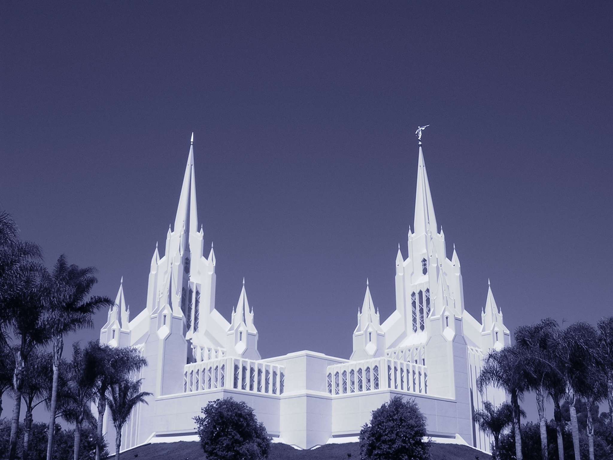 San Diego California Temple Full HD Wallpaper And Background Image