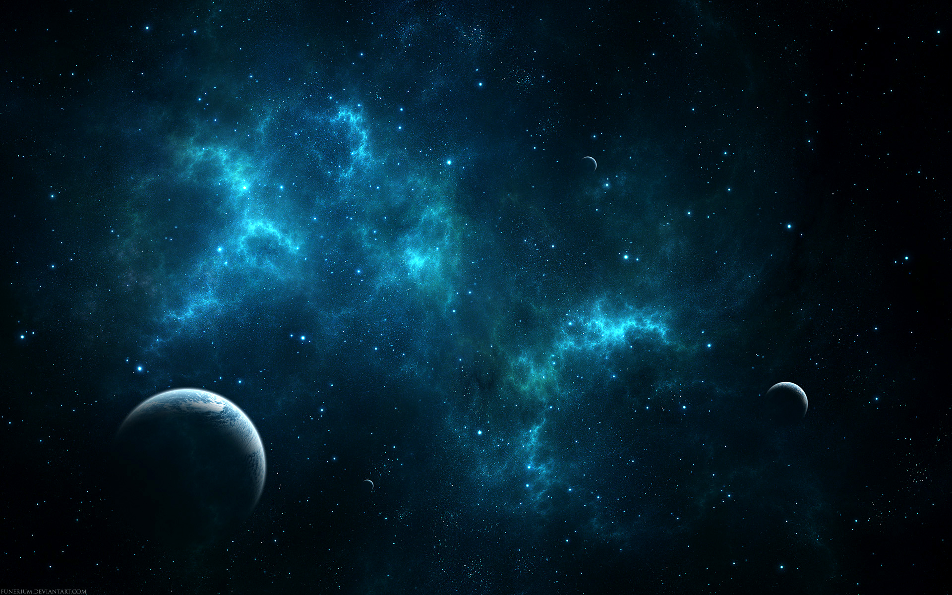 Space Wallpaper Abyss