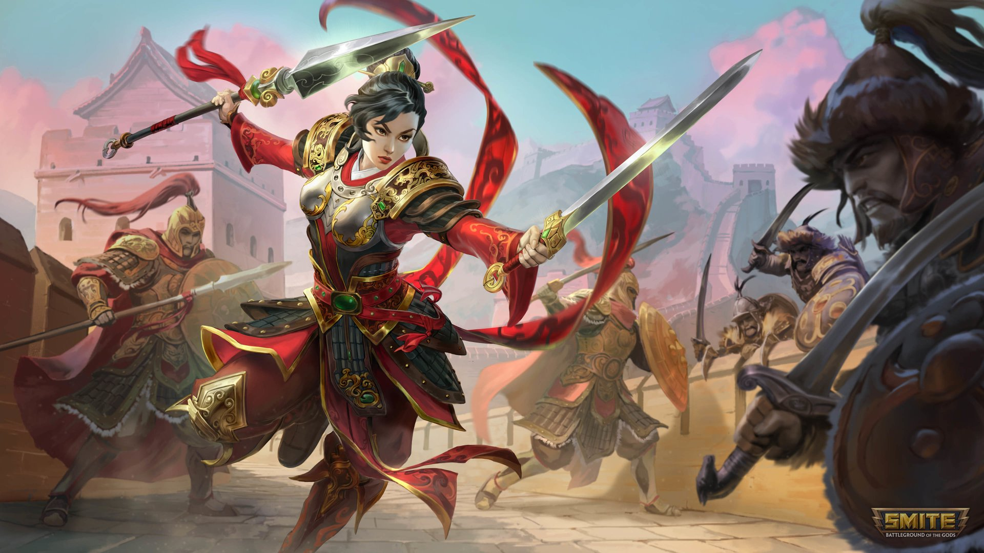 5 Mulan Smite Hd Wallpapers Background Images Wallpaper Abyss