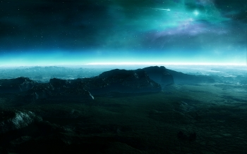 Science-Fiction - Landschaft Wallpapers and Backgrounds ID : 106848