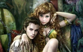 Fantasy - Frauen Wallpapers and Backgrounds ID : 106858