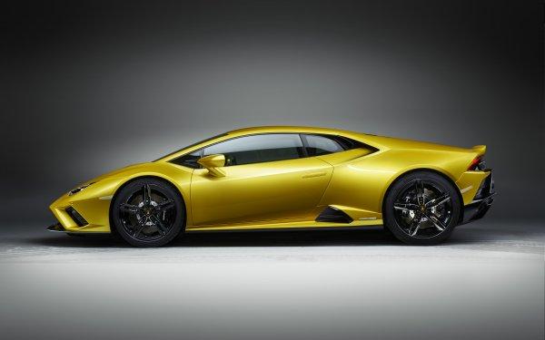 Vehicles Lamborghini Huracán Evo Lamborghini Lamborghini Huracan Car Yellow Car Sport Car Supercar HD Wallpaper | Background Image