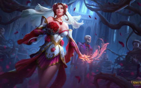 Video Game Smite Persephone HD Wallpaper   Background Image