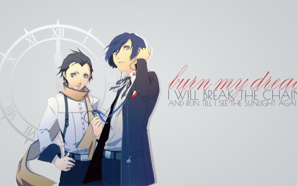 Video Game Persona 3 Persona Ryoji Mochizuki Minato Arisato HD Wallpaper   Background Image