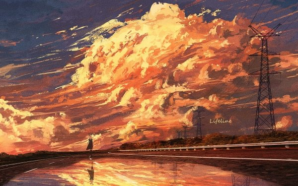 Anime Original Sky HD Wallpaper | Background Image