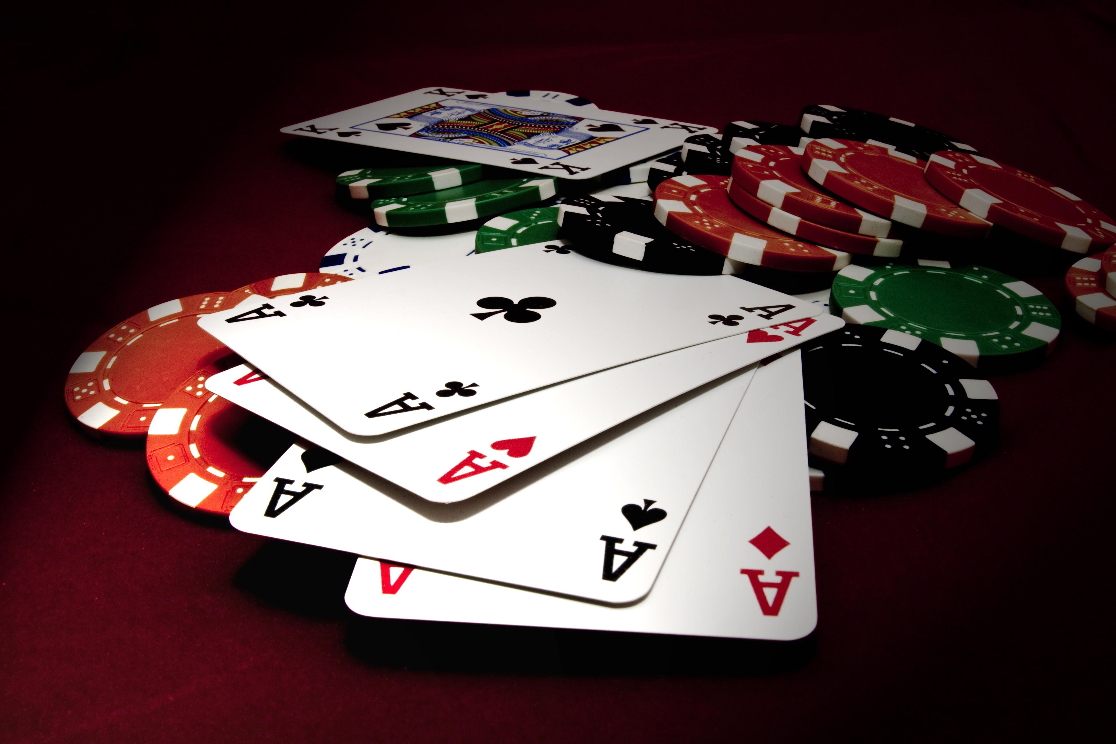 Poker 4k Ultra HD Wallpaper | Background Image | 3888x2592