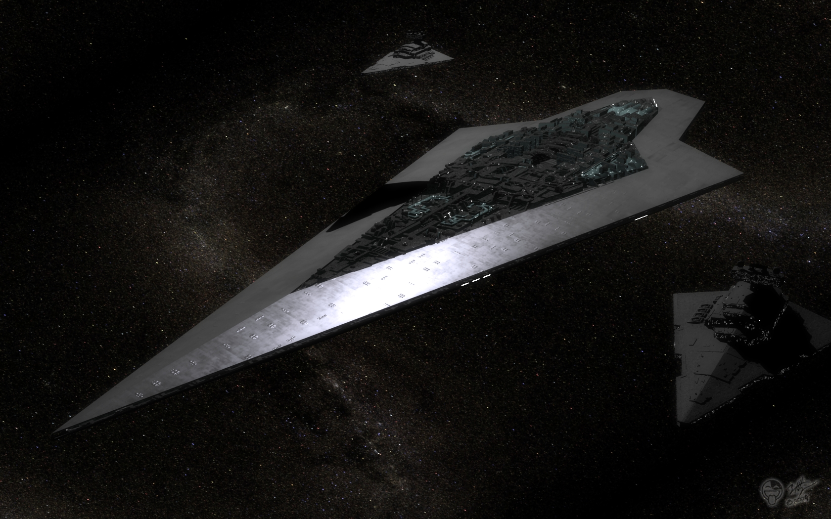 Science-Fiction - Star Wars  - Super Star Destroyer - Executor Hintergrundbild
