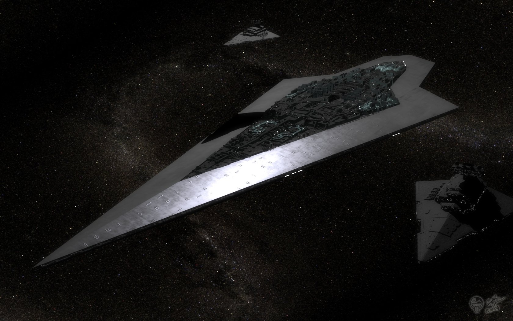 Science-Fiction - Star Wars  Super Star Destroyer Executor Wallpaper