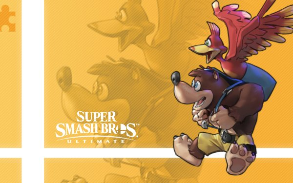 Videojuego Super Smash Bros. Ultimate Banjo-Kazooie Fondo de pantalla HD | Fondo de Escritorio