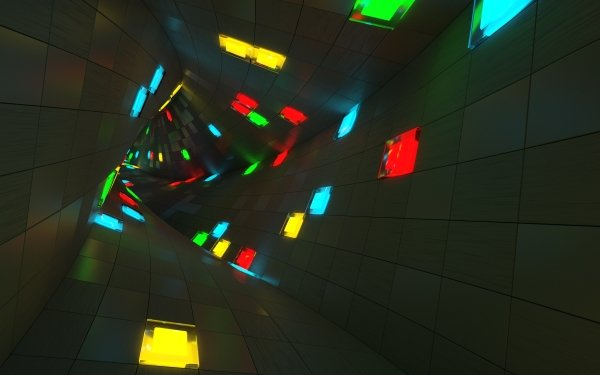 Abstract Tunnel Artistic HD Wallpaper | Background Image