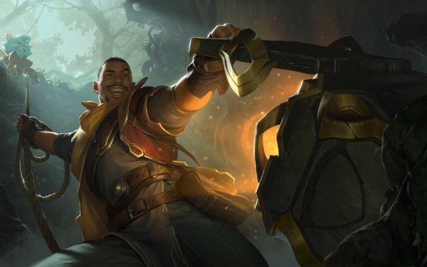 Video Game Legends of Runeterra Yordle HD Wallpaper | Background Image