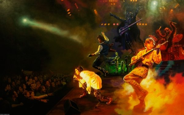 Sci Fi Star Wars Concert HD Wallpaper | Background Image