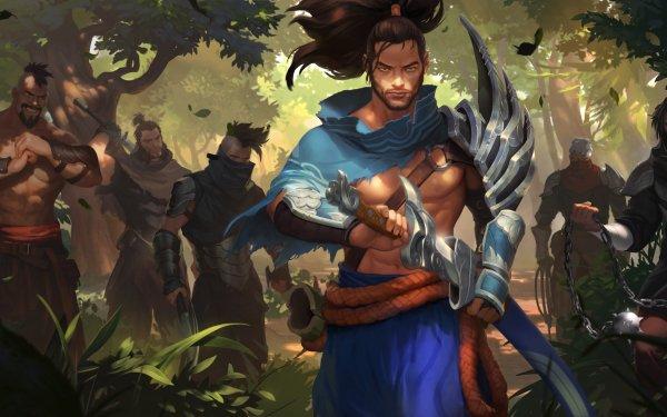 Videojuego Legends of Runeterra Yasuo Fondo de pantalla HD   Fondo de Escritorio