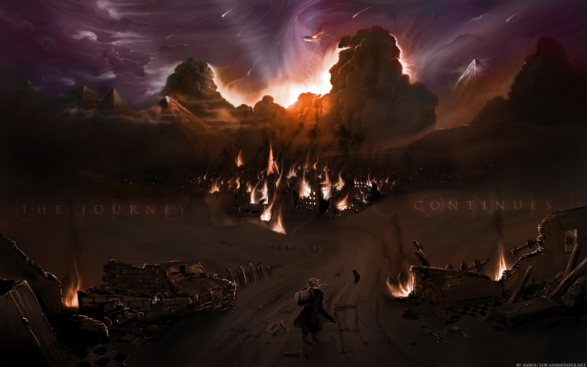 fullmetal alchemist full hd wallpaper and background image