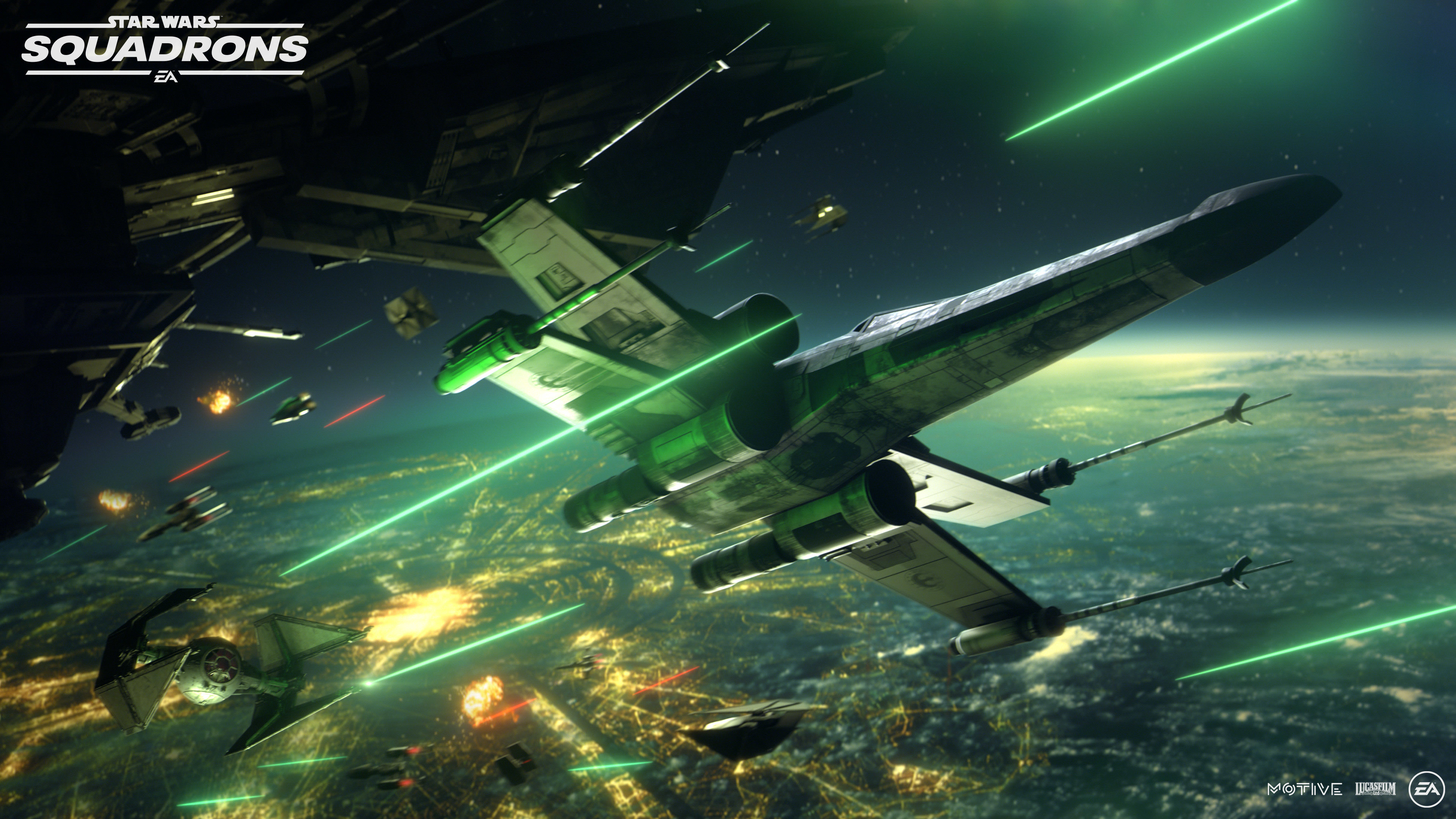 Star Wars Squadrons 4k Ultra Hd Wallpaper Background Image 3840x2160 Id 1082236 Wallpaper Abyss