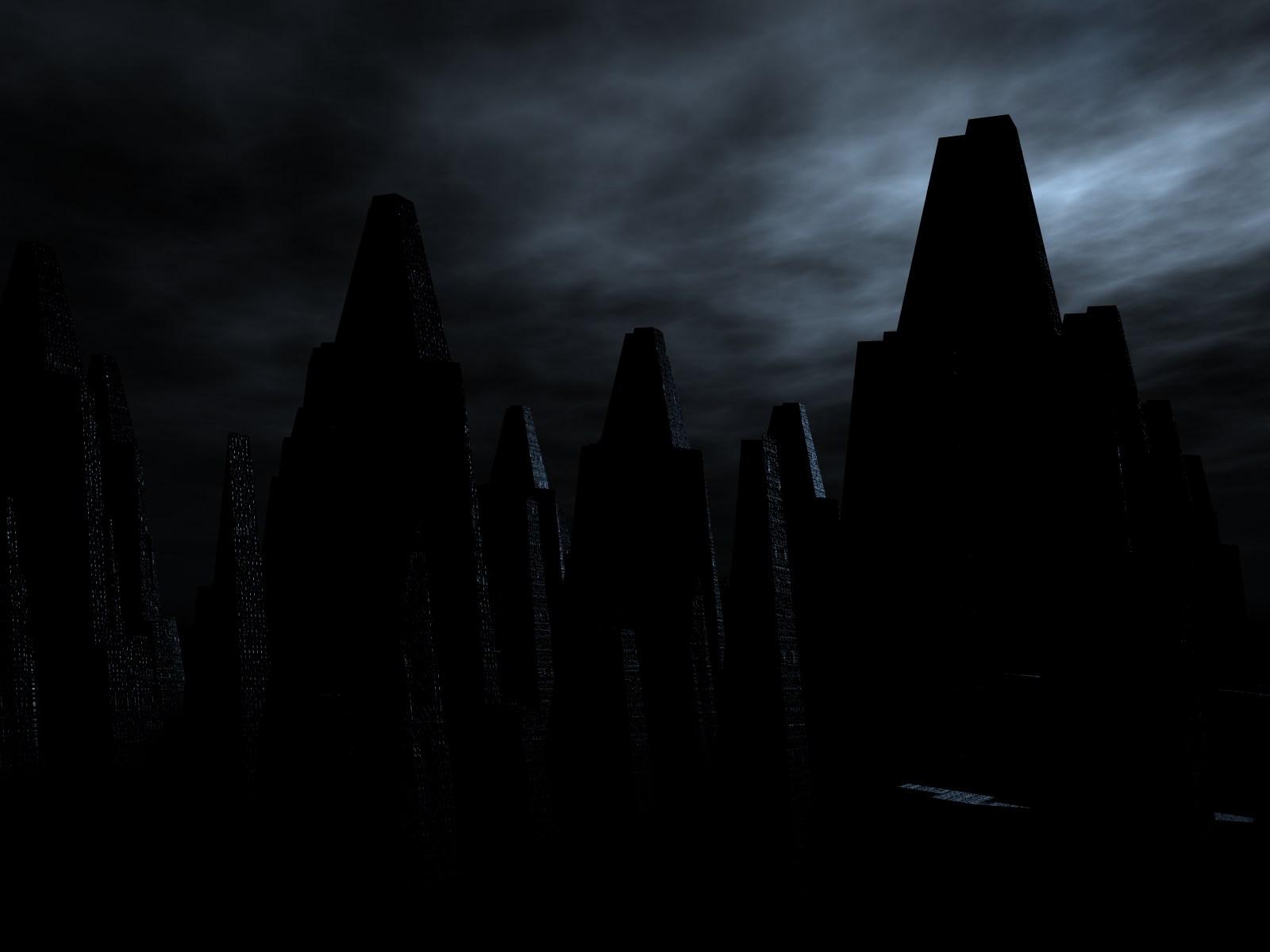 Sombre - City  Fond d'écran