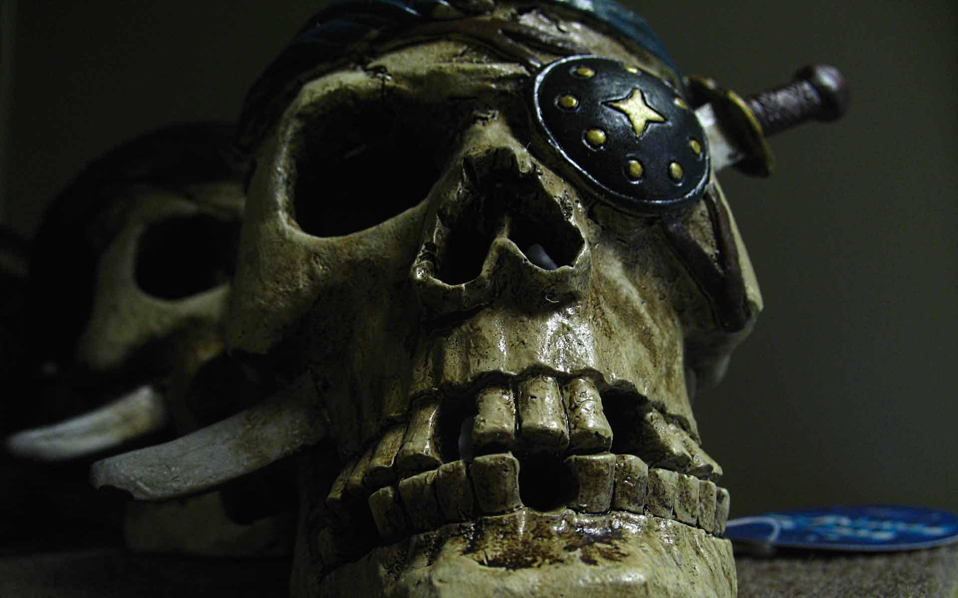 Pirate Skull Fondo De Pantalla Hd Fondo De Escritorio