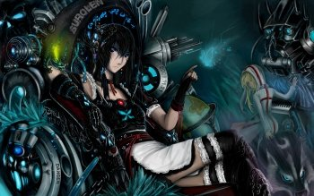 Anime - Black Rock Shooter Wallpapers and Backgrounds ID : 108058
