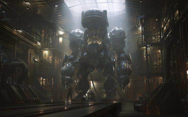 Sci Fi Mech Mecha HD Wallpaper | Background Image