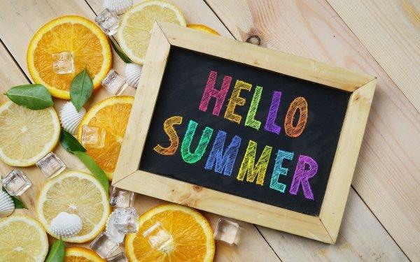 Artistic Summer Lemon Still Life HD Wallpaper | Background Image