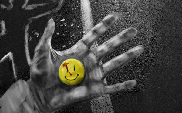 Comics Watchmen Smiley HD Wallpaper | Background Image