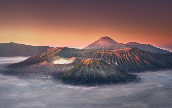 Earth Mount Bromo Volcanoes HD Wallpaper | Background Image