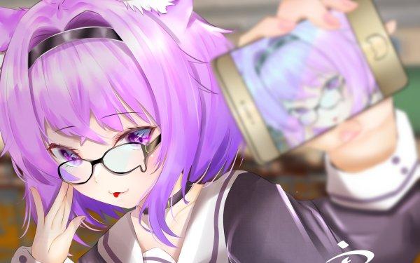 Anime Virtual Youtuber Nekomata Okayu Hololive HD Wallpaper   Background Image