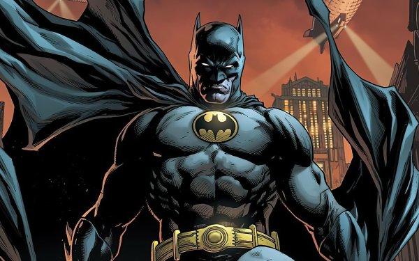 Comics Batman: Detective Comics Batman Bruce Wayne Gotham City HD Wallpaper   Background Image