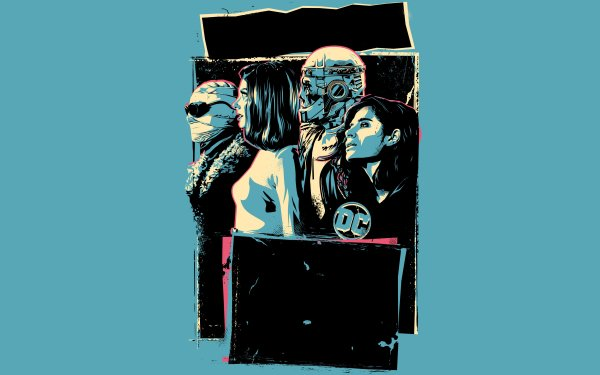 TV Show Doom Patrol Robotman Crazy Jane Elastigirl Negative Man HD Wallpaper | Background Image