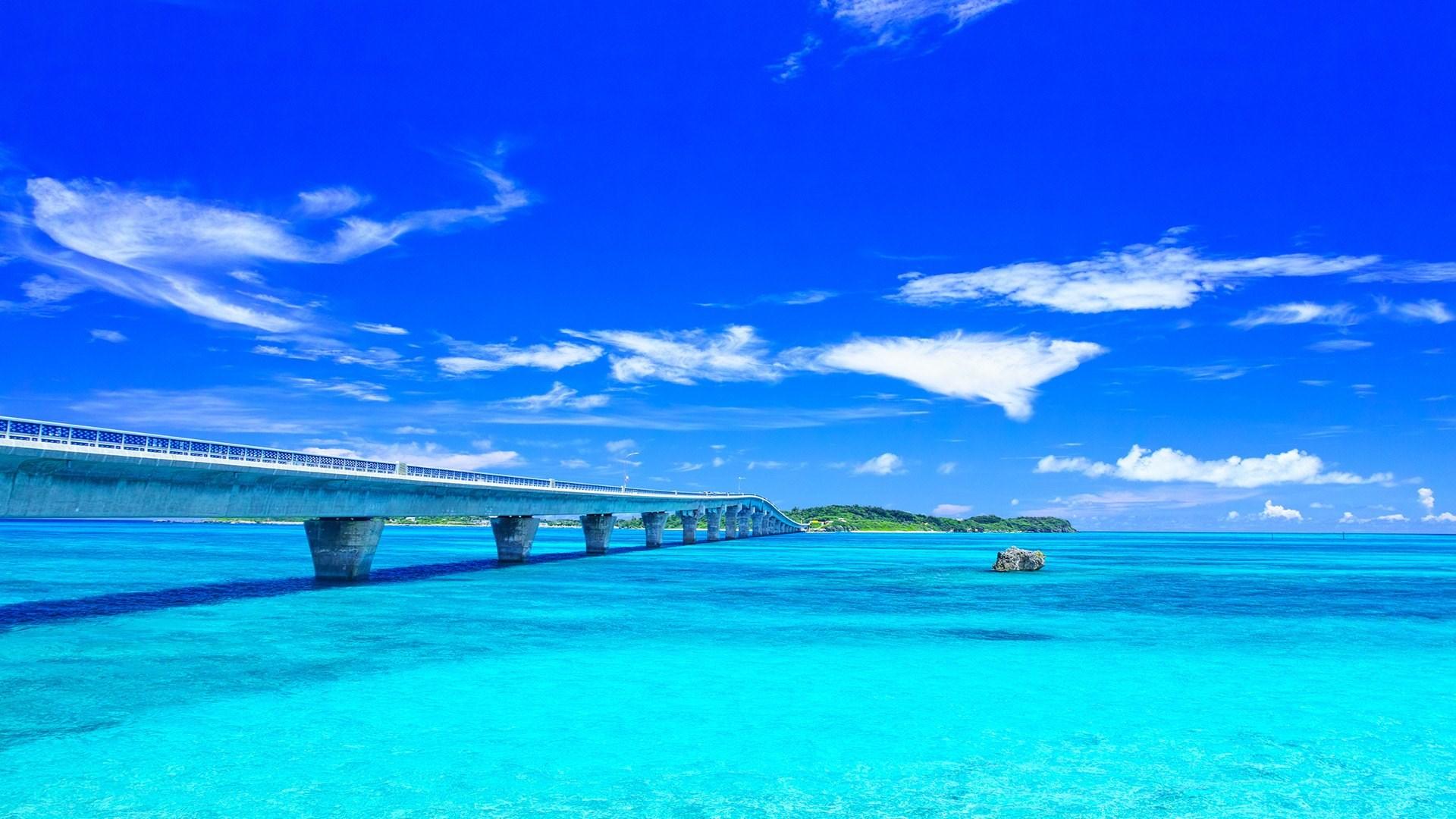 Ikema Ohashi-bridge on the Miyako ...