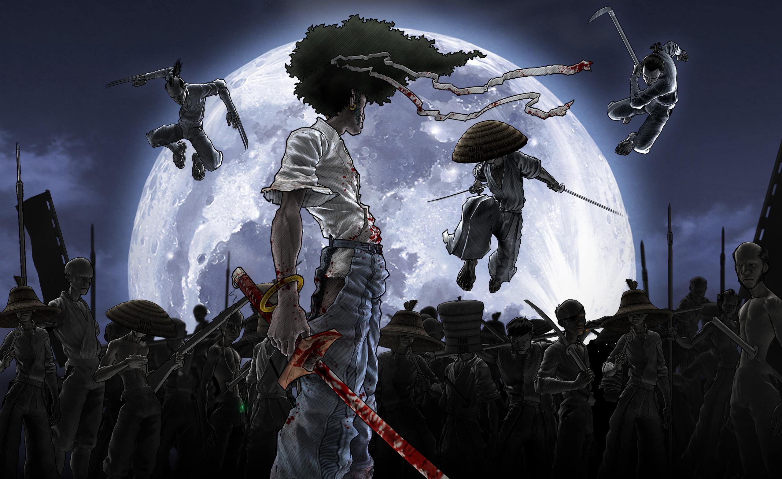 Afro Samurai HD Wallpaper | Background Image | 2558x1567 ...